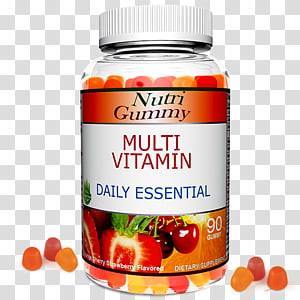 Gummy candy Flavor Food Multivitamin, fiber gummies PNG clipart