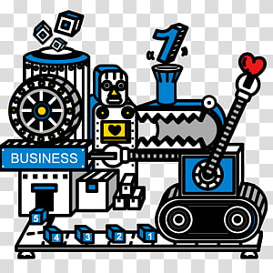 Factory Machine , Is working with the robot intelligent factory PNG clipart