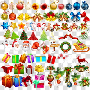 Christmas tree Illustration, Creative Christmas collection PNG clipart