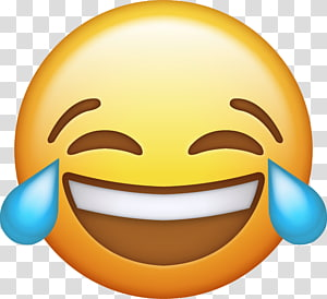 laughing out loud emoji, iPhone Face with Tears of Joy emoji WhatsApp, emoji PNG clipart
