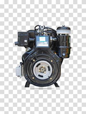 Single-cylinder engine Car Diesel engine, engine PNG clipart