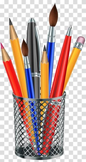 Pencil , Colorful pencil PNG clipart