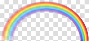 rainbow , Area Font Pattern, Rainbow PNG clipart