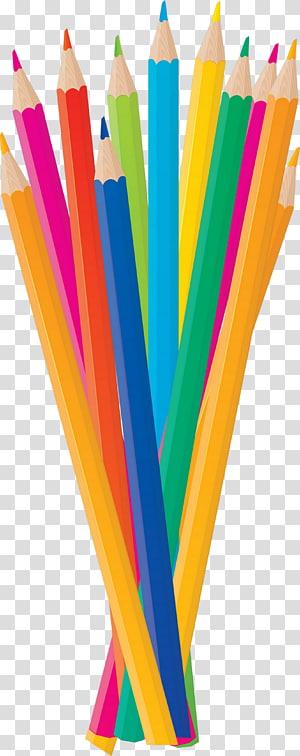 Colored pencil Pen & Pencil Cases , pencil PNG clipart