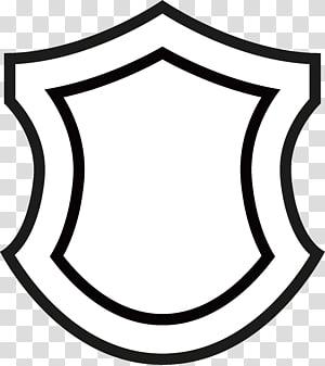 Shield Flat design, Shield graphics PNG