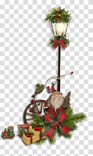 Santa Claus Christmas lights Street light , CHRISTMAS LIGHTS PNG clipart