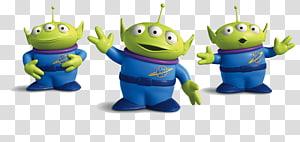 Buzz Lightyear Jessie Sheriff Woody Toy Story Little green men, Toy Story Alien s, Toy Story Three Little Men PNG clipart