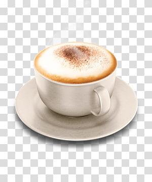 Iced coffee Cappuccino Cafe Caffè Americano, Coffee PNG