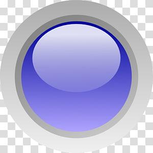 Electric blue Cobalt blue Purple, blue circle PNG