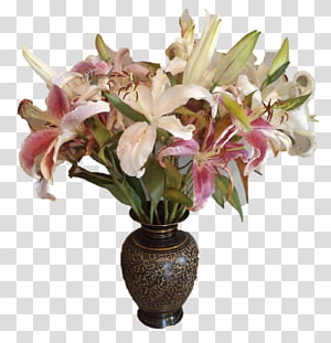 Floral design Cut flowers Vase Flower bouquet, vase PNG clipart