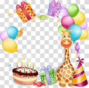giraffe skin, Wedding invitation Birthday cake Greeting card Wish, happy Birthday PNG clipart