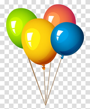 several balloons illustration, Balloon Desktop , baloons PNG clipart