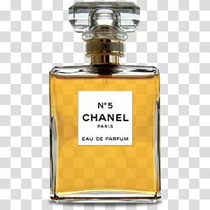 No 5 Chanel Paris Eau De Parfume bottle, glass bottle liquid perfume, NO 5 PNG clipart