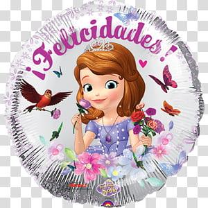 Toy balloon Party Princesa Sofía (Disney) Birthday The Walt Disney Company, party PNG