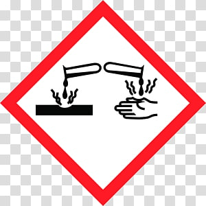 Globally Harmonized System of Classification and Labelling of Chemicals GHS hazard pictograms Corrosive substance CLP Regulation, flame word PNG clipart