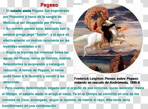 Perseus and Andromeda Danaë Medusa, pegasus PNG