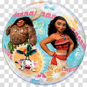 Moana Gas balloon Birthday Mylar balloon, balloon PNG clipart