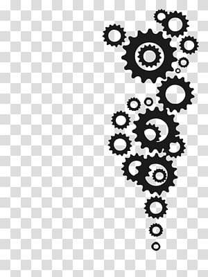Gear Tattoo Bicycle Drawing , Bicycle PNG clipart