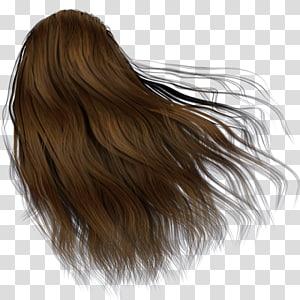 Hair coloring Brown hair Human hair color Cosmetics, hair PNG clipart