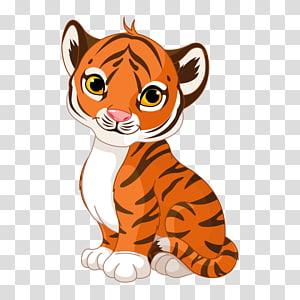 Tiger Cartoon , enfant PNG clipart