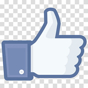 Facebook like button Computer Icons Social media, Dark Blue PNG clipart