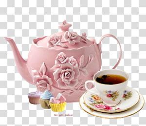 Flowering tea White tea English breakfast tea Teapot, tea PNG