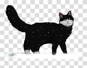 Manx cat Black cat American Wirehair Kitten Domestic short-haired cat, Winter Wonderland PNG