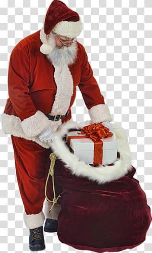 Santa Claus Ded Moroz Woman, santa claus PNG