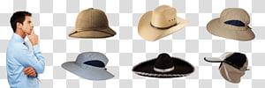 Fedora Sun hat Cap Clothing, man sun hat PNG clipart