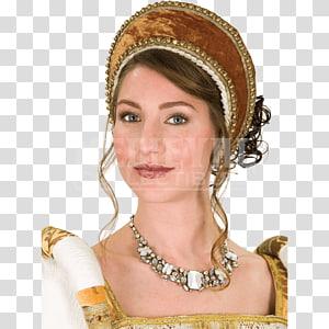 Anne Boleyn Tudor period Renaissance French hood The Tudors, Hat PNG clipart