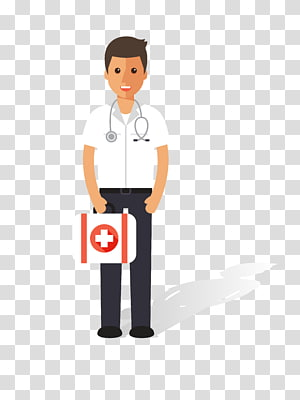 Nursing Physician Patient, cartoon male doctor material PNG clipart