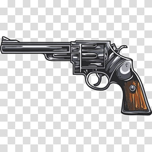 Firearm Pistol Weapon Revolver, weapon PNG