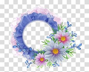 flower border PNG clipart