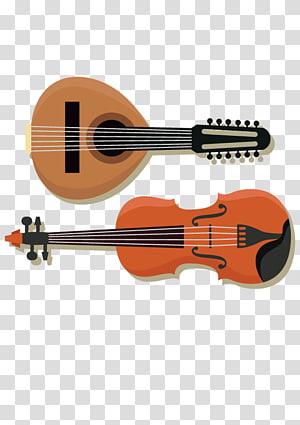 Musical instrument Handbell Violin Bass guitar, violin PNG