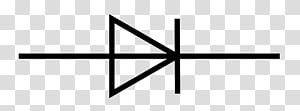 Electronic symbol Zener diode Light-emitting diode Wiring diagram, symbol PNG