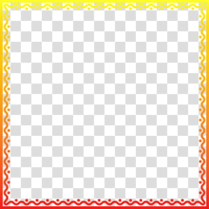 square yellow and red frame illustration, Area Square, Inc. Pattern, gold frame PNG clipart