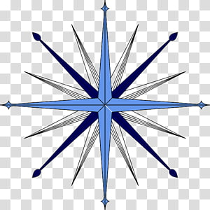 Compass rose , compass PNG clipart