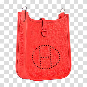 Handbag Red Hermxe8s Orange Shoulder, Hermes shoulder bag orange PNG clipart