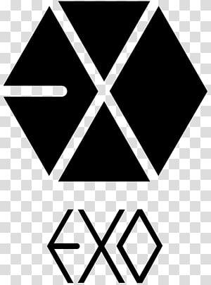 Growl EXO Logo K-pop Art, dreiecke PNG clipart