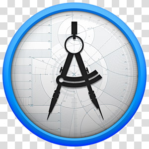 Architecture Compass Technical drawing, purple geometry PNG clipart