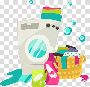 washing machine illustration, Dry cleaning Clothing Washing machine , washing machine PNG