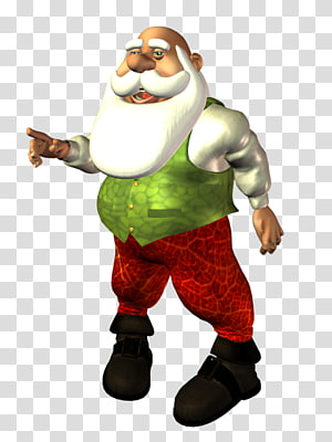 Santa Claus Garden gnome Costume Mascot Christmas ornament, claus PNG clipart
