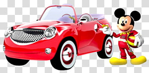 Mickey Mouse Car Daisy Duck Minnie Mouse 1932 Ford, rods PNG