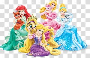 Ariel Tiana Merida Rapunzel Princess Aurora, Disney Princess PNG clipart