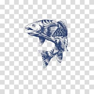 Goose Logo Illustrator Packaging and labeling Illustration, FIG fish PNG clipart