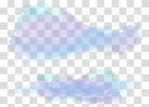 purple dream clouds PNG clipart