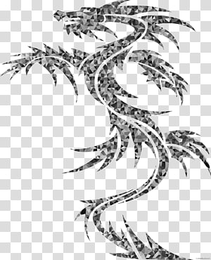 Sleeve tattoo Arm Abziehtattoo Dragon, arm PNG clipart