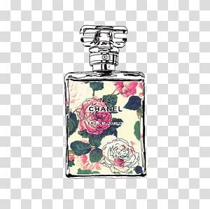 Chanel perfume bottle , Chanel No. 5 Coco Mademoiselle Perfume, Chanel perfume PNG clipart