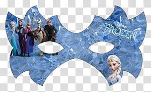 Elsa Anna Kristoff Mask The Walt Disney Company, mascara carnaval PNG clipart