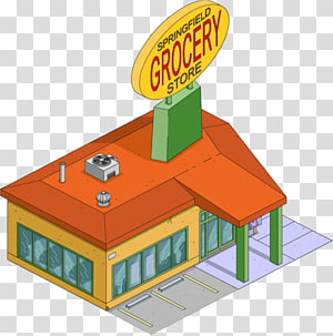 The Simpsons: Tapped Out Springfield Bart Simpson Dr. Nick Grocery store, Grocery Shopping s PNG